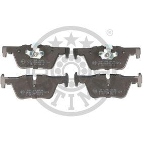 Brake Pad Set, disc brake BP-12586 3 Saloon (F30, F80) 318d 2.0 MY 2014
