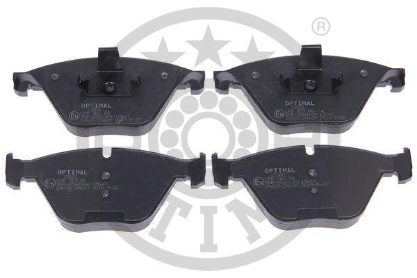 Bremsbeläge BP-12601 OPTIMAL 24689 in Original Qualität
