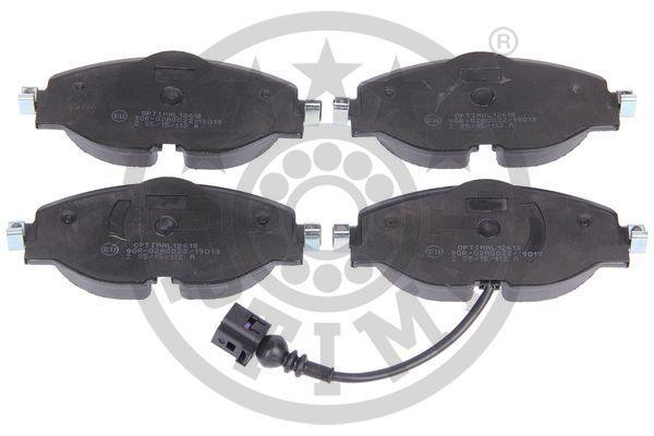 Bremsbeläge BP-12618 OPTIMAL 25683 in Original Qualität