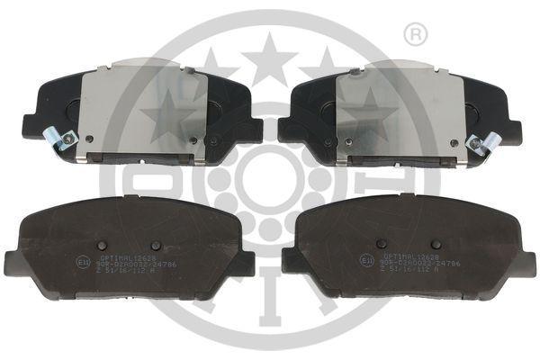 Bremsbeläge BP-12628 OPTIMAL 24915 in Original Qualität