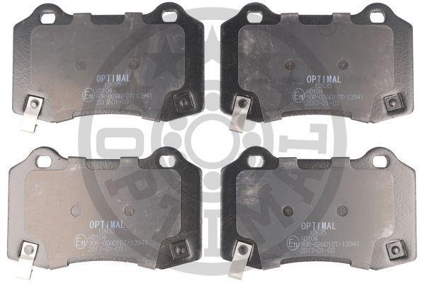 Bremsbeläge BP-12635 OPTIMAL BP-12635 in Original Qualität