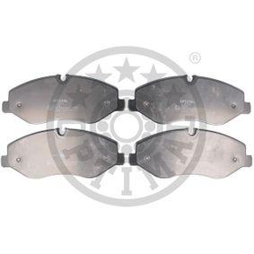 Bremsbelagsatz, Scheibenbremse Breite: 184,1mm, Höhe: 75,1mm, Dicke/Stärke: 19,9mm mit OEM-Nummer A4474200020