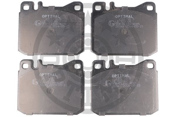 Bremsbeläge BP-23011 OPTIMAL 20341 in Original Qualität