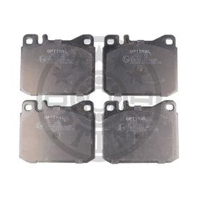 Bremsbelagsatz, Scheibenbremse Breite: 73,9mm, Dicke/Stärke: 17,5mm mit OEM-Nummer 0014200520