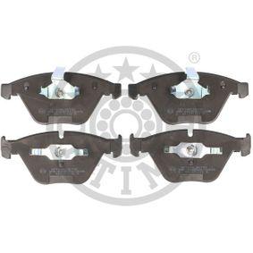 Bremsbelagsatz, Scheibenbremse Breite: 68,27mm, Dicke/Stärke: 20,3mm mit OEM-Nummer 34 11 6 776 161