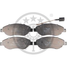 Bremsbelagsatz, Scheibenbremse Breite: 57,35mm, Dicke/Stärke: 19mm mit OEM-Nummer 9949279
