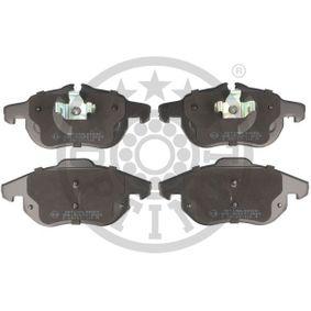 Bremsbelagsatz, Scheibenbremse Breite 1: 70,72mm, Breite: 69,75mm, Dicke/Stärke: 20,4mm mit OEM-Nummer 93185751