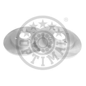 Brake Disc Brake Disc Thickness: 10mm, Ø: 253mm with OEM Number 1 51 4237
