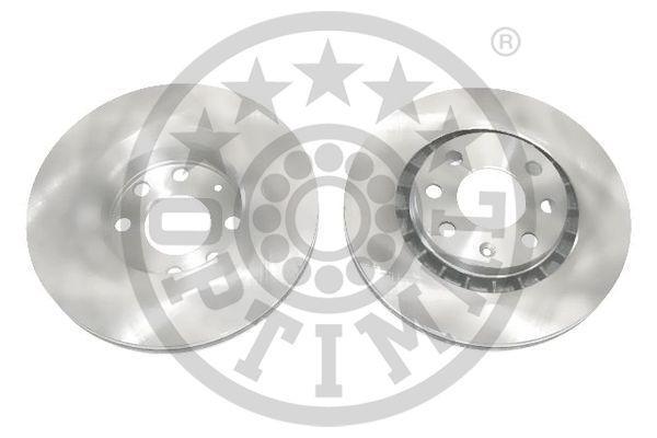 OPTIMAL  BS-1780C Bremsscheibe Bremsscheibendicke: 24mm, Ø: 256mm