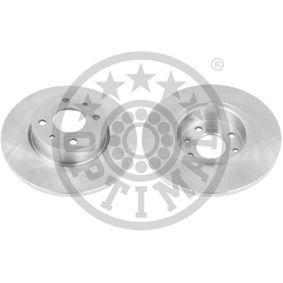 Bremsscheibe Bremsscheibendicke: 14mm, Ø: 257mm mit OEM-Nummer 82434169