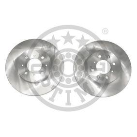 Спирачен диск дебелина на спирачния диск: 21мм, Ø: 262мм с ОЕМ-номер SDB100600