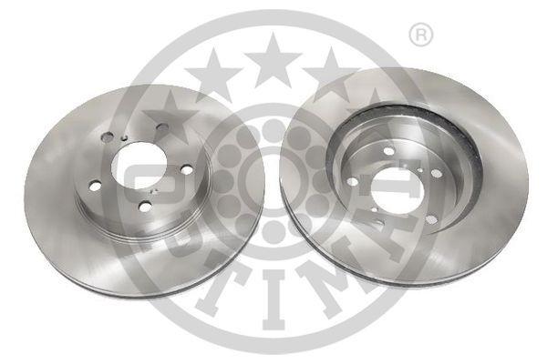 OPTIMAL  BS-3970C Bremsscheibe Bremsscheibendicke: 24mm, Ø: 260mm