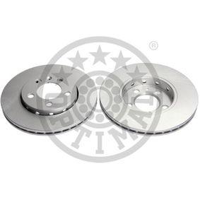 Bremsscheibe Bremsscheibendicke: 22mm, Ø: 256mm mit OEM-Nummer JZW 698 302 CB