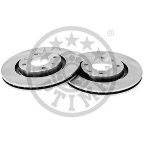 Bremsscheibe Bremsscheibendicke: 22mm, Ø: 266mm mit OEM-Nummer 4249-G1