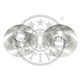 Bremsscheibe Bremsscheibendicke: 9,5mm, Ø: 213mm mit OEM-Nummer 21A 2612