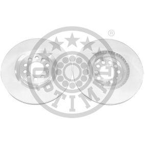 Bremsscheibe Bremsscheibendicke: 25mm, Ø: 312mm mit OEM-Nummer 8N0 615301A