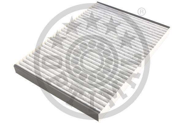 OPTIMAL  FC-C2100GER Filter, Innenraumluft Länge: 253mm, Breite: 179mm, Höhe: 20mm
