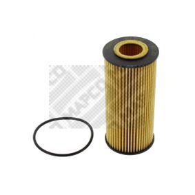 Ölfilter Ø: 53mm, Innendurchmesser 2: 24mm, Höhe: 112mm mit OEM-Nummer 06K115562