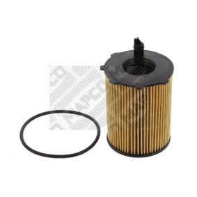 Filtro de óleo Ø: 65mm, Diâmetro interior: 30mm, Diâmetro interior 2: 18mm, Altura: 99mm com códigos OEM SU 001-A3092