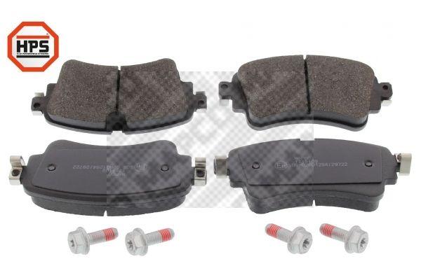 MAPCO  6690HPS Brake Pad Set, disc brake Width: 129,2mm, Height: 59,1mm, Thickness: 17,5mm