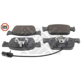 Bremsbelagsatz, Scheibenbremse Höhe: 64mm, Dicke/Stärke: 17mm mit OEM-Nummer 8W0 698 151 AG