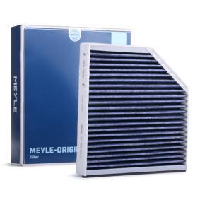 Filter, Innenraumluft Länge: 252mm, Breite: 254mm, Höhe: 33mm mit OEM-Nummer 4H0 819 439