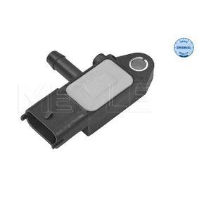 Sensore, Pressione gas scarico N° raccordi: 3 con OEM Numero 51792301