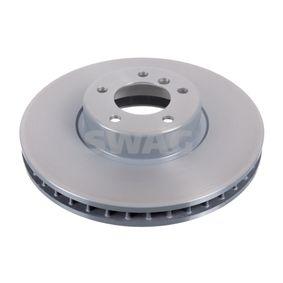 Bremsscheibe Bremsscheibendicke: 36mm, Ø: 348,0mm mit OEM-Nummer 34116779467