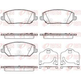 Brake Pad Set, disc brake Article № 1783.02 £ 140,00