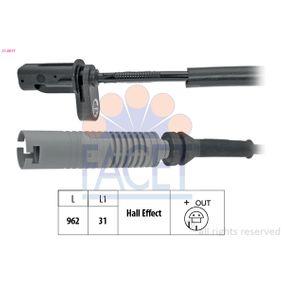 Sensor, Raddrehzahl mit OEM-Nummer 3452 6 762 466