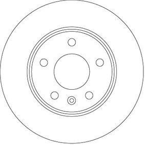 Bremsscheibe DF6915 ZAFIRA B (A05) 1.7 CDTI (M75) Bj 2015