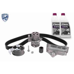 Wasserpumpe + Zahnriemensatz Breite: 30mm mit OEM-Nummer 68001309AA