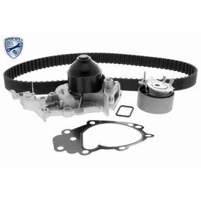 VAICO  V46-50023-BEK Wasserpumpe + Zahnriemensatz Breite: 23,4mm