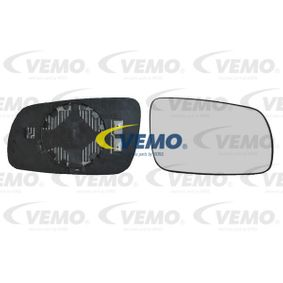 Mirror Glass, outside mirror with OEM Number 1U1 857 522H