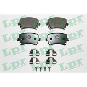 Bremsbelagsatz, Scheibenbremse Breite: 105,3mm, Höhe: 55,5mm, Dicke/Stärke: 16,9mm mit OEM-Nummer JZW698451D