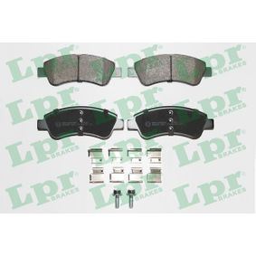 Brake Pad Set, disc brake Width: 137mm, Height: 52mm, Thickness: 18,8mm with OEM Number 1613192280