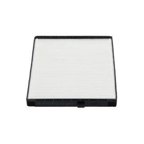 Filtro, aire habitáculo Long.: 240mm, Ancho: 204mm, Altura: 18mm con OEM número EC96539649