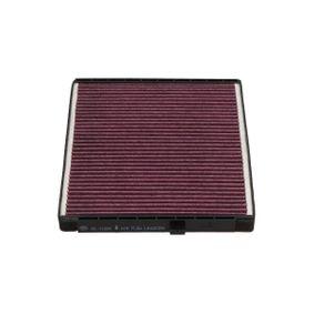 Filtro, aire habitáculo Long.: 240mm, Ancho: 204mm, Altura: 18mm con OEM número EC96 539 649