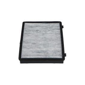 Filter, Innenraumluft Länge: 275mm, Breite: 200mm, Höhe: 27mm mit OEM-Nummer 95 599 725