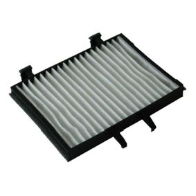 Filter, Innenraumluft Länge: 212mm, Breite: 156mm, Höhe: 25mm mit OEM-Nummer MR360889