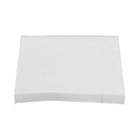 Filter, Innenraumluft Länge: 215mm, Breite: 195mm, Höhe: 22mm mit OEM-Nummer GS1D 61 P11