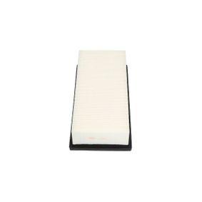 Luftfilter Länge: 309mm, Breite: 152mm, Höhe: 70mm mit OEM-Nummer 17801 0B020