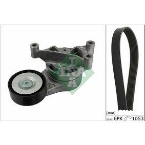 Passat B6 2.0FSI Keilrippenriemensatz INA 529 0052 10 (2.0 FSI Benzin 2006 CBFA)