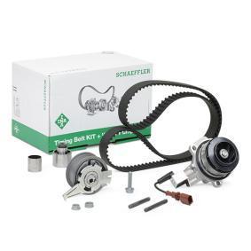 Tiguan 5n 2.0TDI 4motion Wasserpumpe + Zahnriemensatz INA 530 0650 30 (2.0 TDI 4motion Diesel 2018 CUWA)