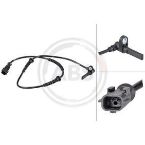 Renault Twingo 2 1.2 (CN0D) ABS Sensor A.B.S. 31783 (1.2 (CN0D) Benzin 2011 D7F 800)