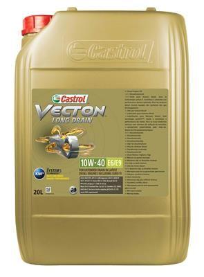 CASTROL Vecton, Long Drain E6/E9 15B346 Motoröl