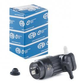 Water Pump, window cleaning Voltage: 12V, Number of connectors: 2 with OEM Number 90 492 357
