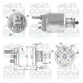 Magnetschalter, Starter 46223 3 Limousine (E46) 320d 2.0 Bj 2001