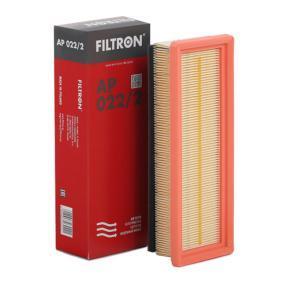 Luftfilter Länge: 278mm, Breite: 97mm, Höhe: 61mm, Länge: 278mm mit OEM-Nummer 55 192 012