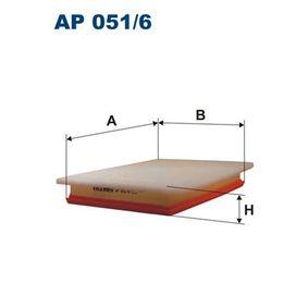 Air Filter AP 051/6 Astra Mk5 (H) (A04) 1.9 CDTI MY 2005